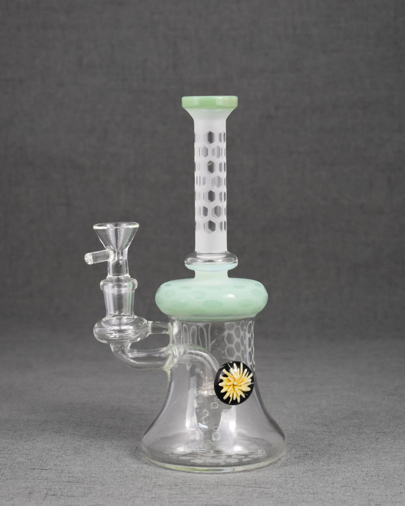 Daisy Beehive Straight Tube Smoking Rig