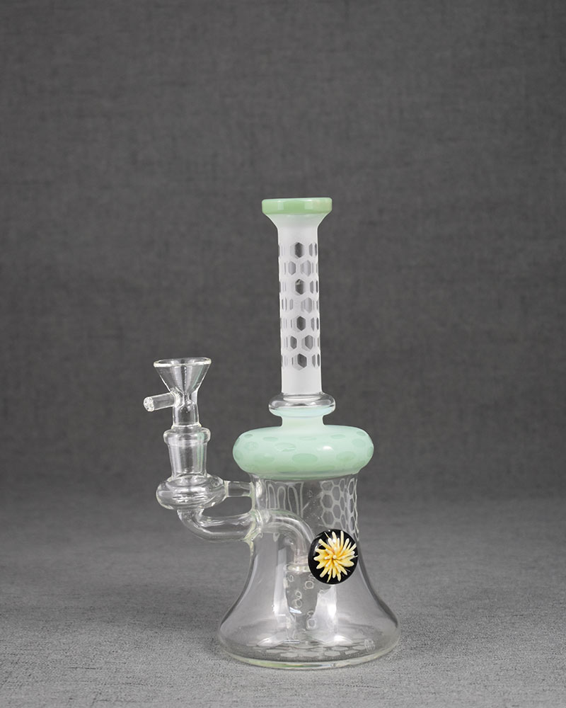 Honeycomb Daisy Type Glass Bong China Whosale