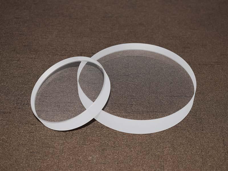 High temperature resistance round quartz sight glass