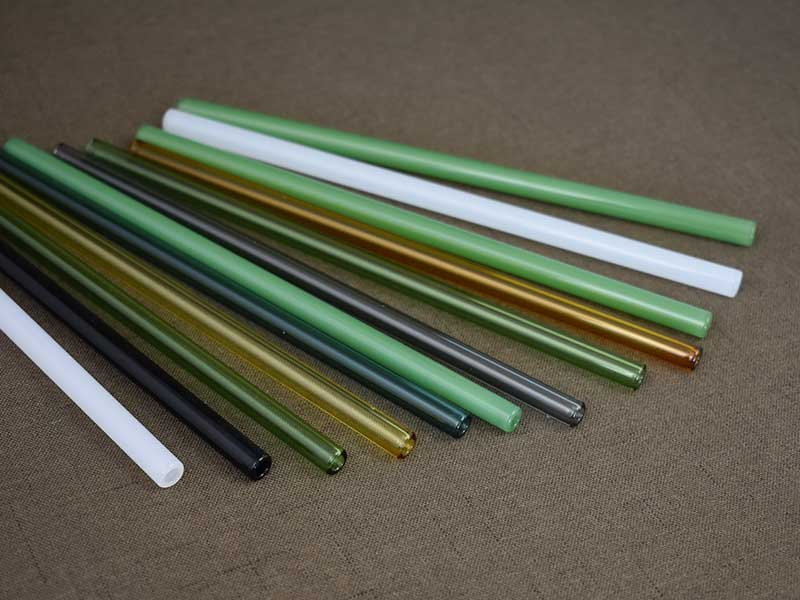 Kinds Of Colors Colored Borosilicate Glass Tube