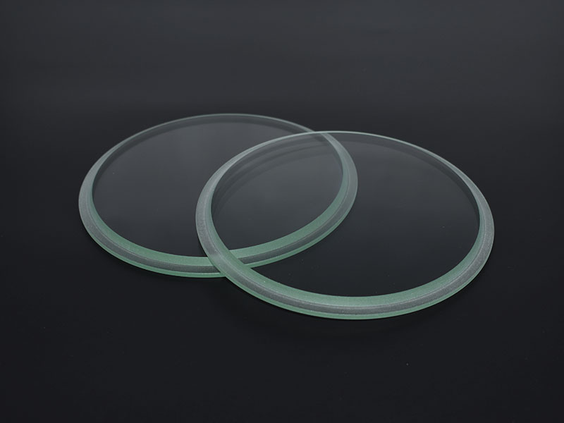 Boiler Tempered Sight Glass Step Glass For Flange Connect