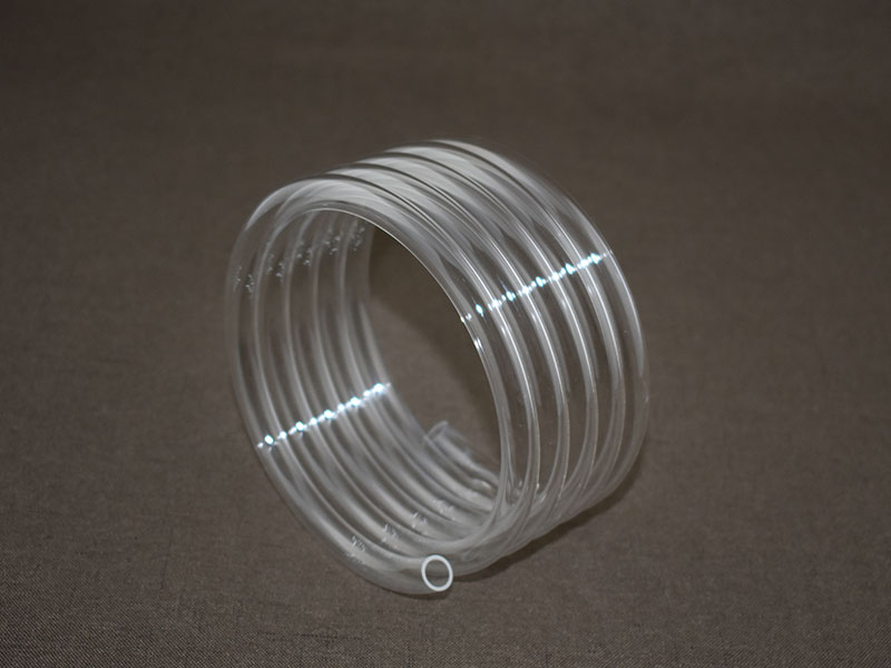 Spiral Quartz Glass Tube Helix Tube