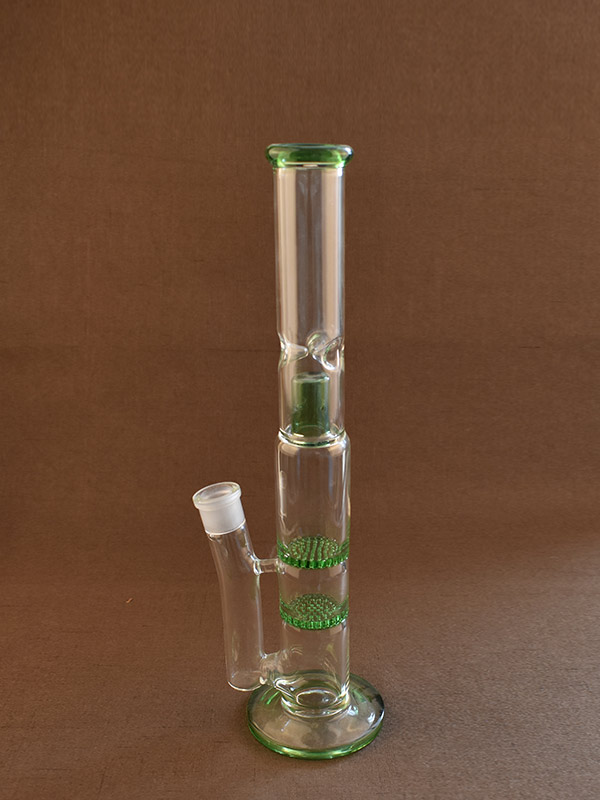Water Bong Straight Tube Smoking Pipe Long Ice Tube