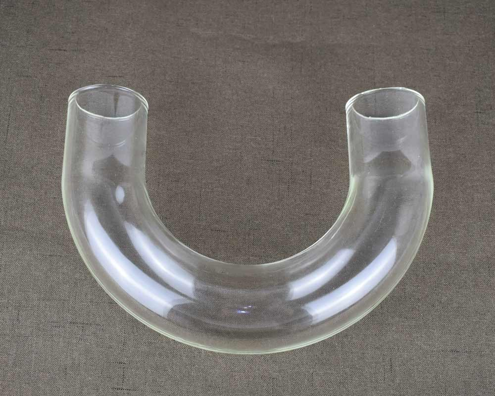 Glass Elbow Glass Bending Tube Algae Culture Seaweed Farming Accessories