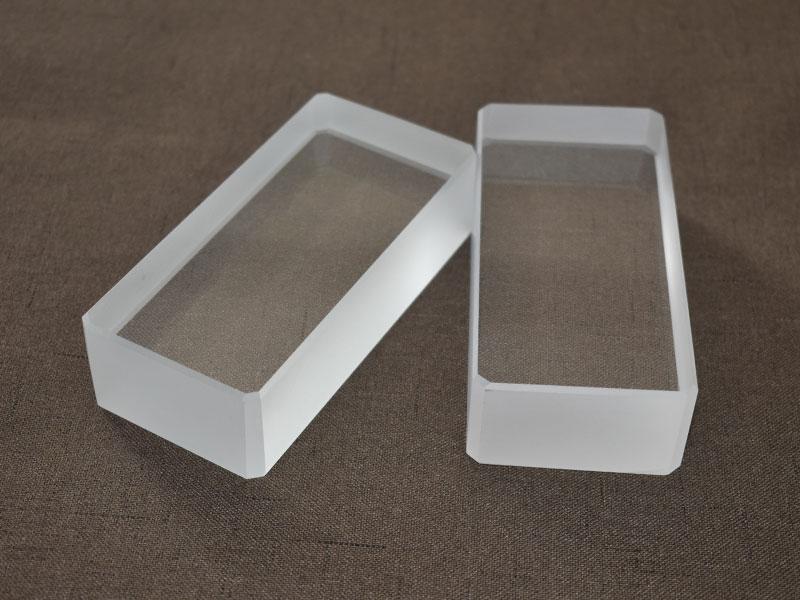 Ultra-thick UV Quartz Glass Plate Clear Quartz Glass Substrate
