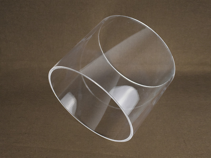 180mm Big Diameter Transparent Heat Resistant Quartz Glass Tube
