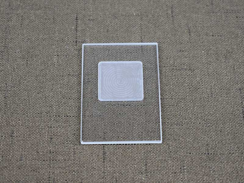 LED tempered glass frosted glass for lamps and lanterns 3mm float white glass